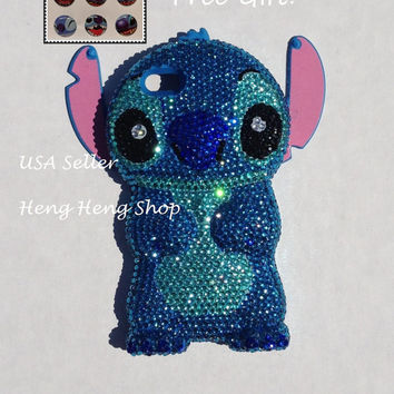 stitch phone case iphone 5s best disney bling iphone 5 cases products on wanelo 7987