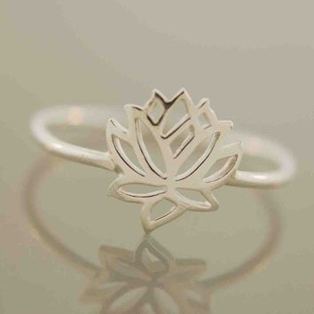 Tiny Wonders Lotus Ring Promotion