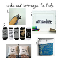 Fun Finds for the Booknerd #32 - Books and Beverages