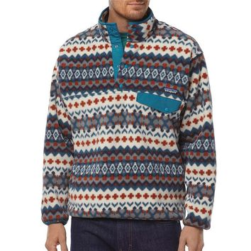 Patagonia Men's Synchilla® Snap-T® Fleece Pullover | Cave: Underwater Blue
