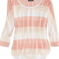 AEO Women's Factory Shine Striped T-shirt