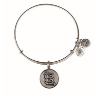 Alex and Ani St. Louis Cardinals Cap Logo Charm Bangle - Rafaelian Silver Finish