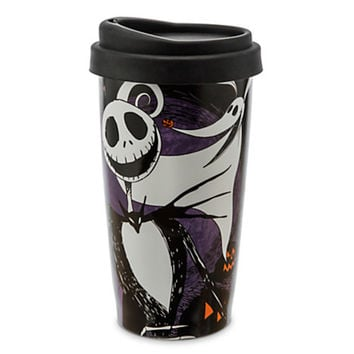 disney parks ceramic tumbler nightmare before christmas jack skellington new