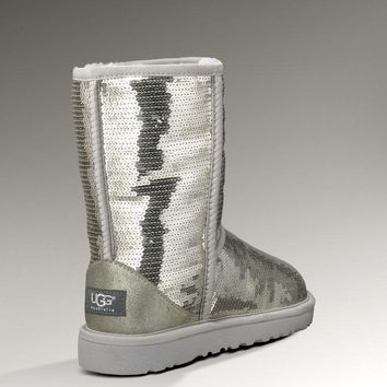 UGG: sheepskin light medium snow boots-3
