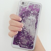 LILAC STAR FALL IPHONE CASE