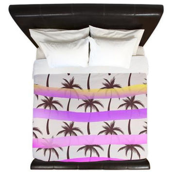 King Duvet Cover - Palm Trees - Ornaart Design