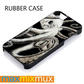 Octopus, Kraken iPhone 4/4S, 5/5S, 5C, 6/6 Plus Series Rubber Case