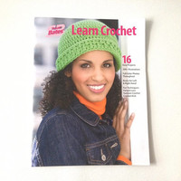 Learn to Crochet, Susan Bates Book, Crochet Projects, Beginner Projects, Learn Crochet