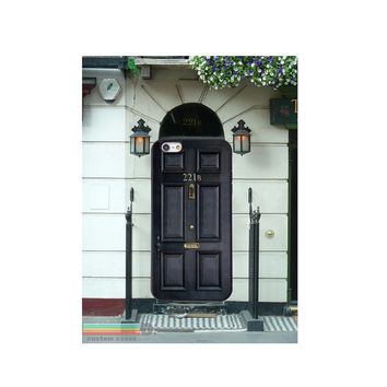 Sherlock Holmes Front Door, Custom Phone Case for iPhone 4/4s, 5/5s, 6/6s, 6/6s+ and iPod Touch 5