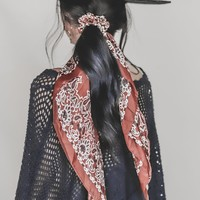 Tie To Me Rust Hair Scarf