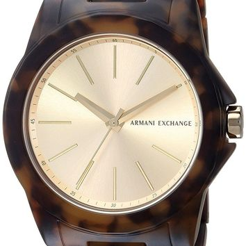 Armani Exchange Brown Men's Watch