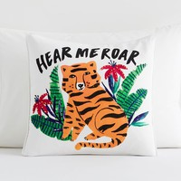 Jungle Fever Tiger Pillow Cover