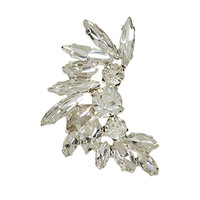 Statement Crystal Ear Cuff | Clear | Accessorize