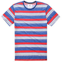 On The Byas Nick Jaquard Stripe Crew Tee at PacSun.com