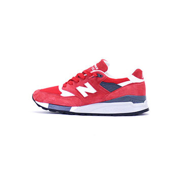 New Balance 998 - Red/ White