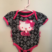 Hello Kitty Onesuit ~ 0-6 Months ~ pre-owned