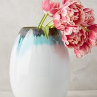 Artico Vase by Anthropologie in Turquoise Size: One Size Vases