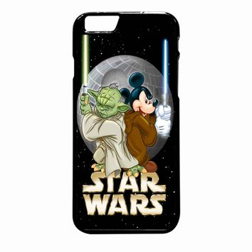 Star Wars Mickey And Yoda iPhone 6 Plus case