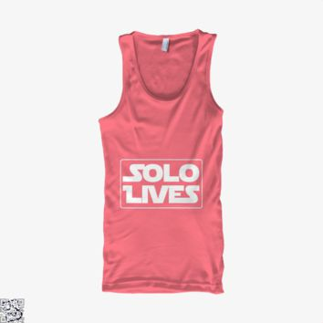 Solo Lives, Star Wars Tank Top