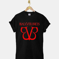 Black Veil Brides DTG ScreenPrint 100% pre-shrunk cotton for t shirt mens and t shirt woman at kahitna