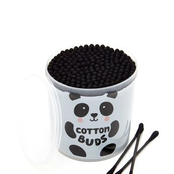 Panda Graphic Cotton Swab Set
