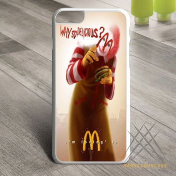 joker mcdonalds funny why so delicious Custom case for iPhone, iPod and iPad