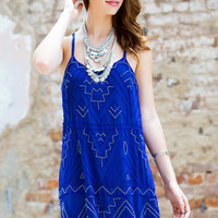 HARPER BEADED SHIFT DRESS