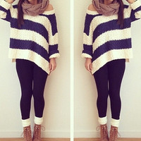Mystery Vintage Outfit-Chunky Sweater-Tights-Leggings-Cardigan-Comfy Sweater