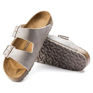 Sale Birkenstock Arizona Birko Flor Animal Fascination Mud 1005470/1005471 Sandals