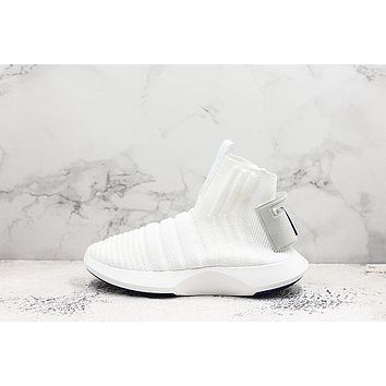 Adidas Crazy 1 Adv Sock Primeknit Triple White