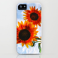 Sunflowers iPhone Case by Pirmin Nohr