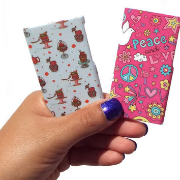 Clique Fashion Case Shell (2 Pack) for iPod nano 7th Generation (Sugared love / Peace and love) - Fabulously Stylish Accessories for Girls