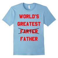 World's Greatest Farter Father T-Shirt