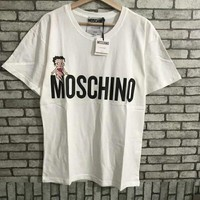 '' Moschino '' Women Simple T-shirt