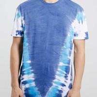 BLUE TIE DYE T-SHIRT - New In