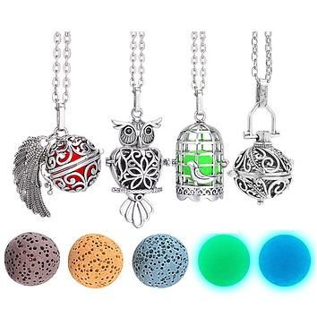 Aromatherapy Diffuser Locket Necklace