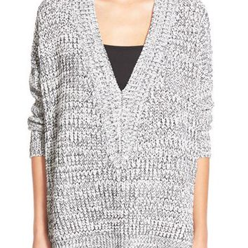 Dreamers by Debut Marled Deep V-Neck Sweater | Nordstrom