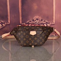 Louis Vuitton Women Leather Purse Waist Bag Single-Shoulder Bag
