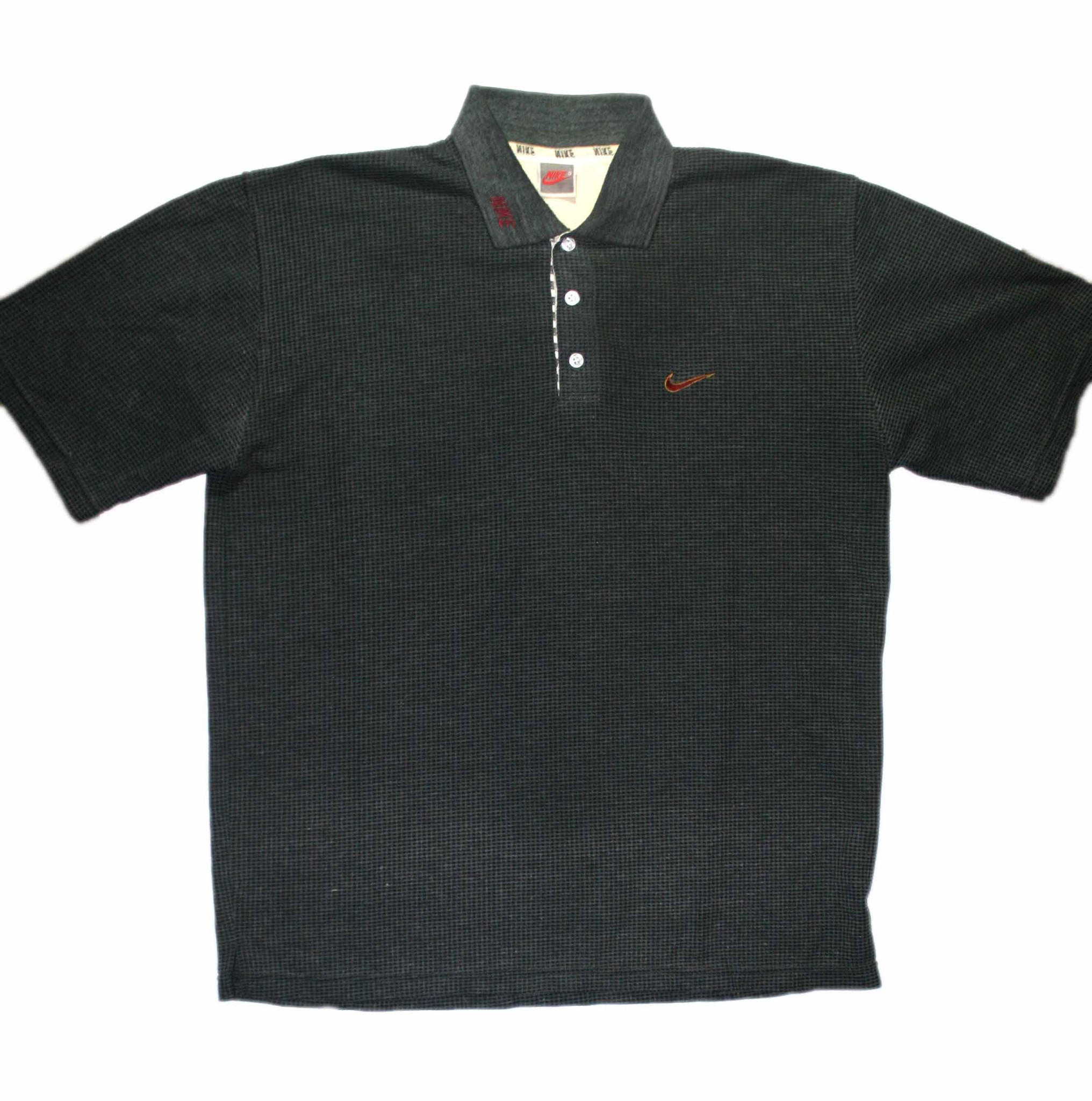 Vintage 90s Nike Polo Shirt Mens Size from Vintage Mens Goods