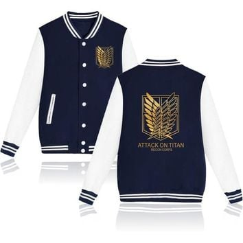 Attack on Titan Hoodies Sweatshirt Coat Mikasa Ackerman Cosplay Costume jacket coats