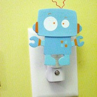 custom Robot night light Robot CUSTOM PAINTED