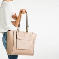 TOTE WITH POCKET - NEW IN-WOMAN | ZARA United Kingdom
