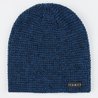 Yea.Nice The Legend Beanie Heather Navy One Size For Men 26480328201