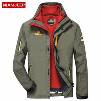 Waterproof NIAN JEEP Windbreaker Rain Jacket
