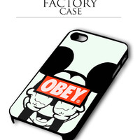 Obey Mickey Mouse iPhone 4, iPhone 4s, iPhone 5, iPhone 5s, iPhone 6, iPhone 6+,iPod 4, iPod 5 case