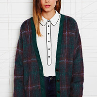 Cooperative Tartan Cardigan at Urban Outfitters