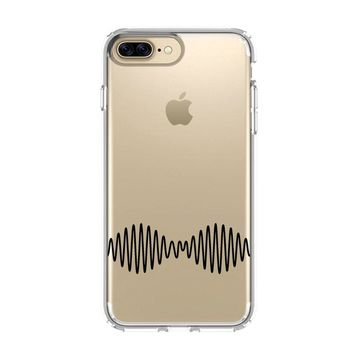 ARCTIC MONKEYS LOGO iPhone 4/4S 5/5S/SE 5C 6/6S 7 8 Plus X Clear Case