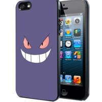 Gengar Face Pokemon Samsung Galaxy S3 S4 S5 Note 3 , iPhone 4 5 5c 6 Plus , iPod 4 5 case
