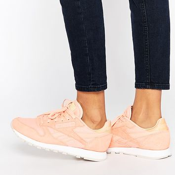 Reebok Coral Classic Leather Transform Trainer