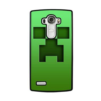 creeper minecraft lg g4 case cover  number 1